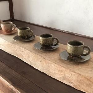 牧野窯 萩焼の器